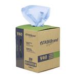 NuTrend TaskBrand V40 Azul DRC Toalla de limpieza - Hoja plana - longitud total 10 pulg. - Ancho 12 pulg. - NUTREND N-V040CGB