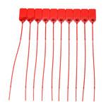 Brady Rojo Sello no adhesivo indicador a prueba de manipulaciones - Longitud 9 in - 754476-95150