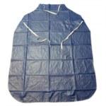 West Chester Azul Vinilo Delantal/mandil resistente a productos químicos - Ancho 35 pulg. - Longitud 45 pulg. - 662909-861900
