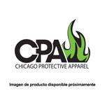 Chicago Protective Apparel XL Carbón aluminizado Overoles resistentes al calor - 605-ACF XL