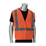 PIP V302- Naranja Grande/XG Poliéster Malla Chaleco de alta visibilidad - 2 Bolsillos - 616314-26630