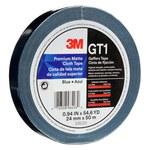 3M GT1 Cinta gaffer Azul - 24 mm Ancho x 50 m Longitud - 11 mil Grosor - 98496