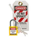 Brady Amarillo Kit de bloqueo/etiquetado - 754473-71982