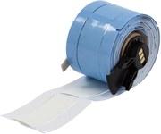 Brady PermaSleeve PSPT-500-2-WT-R Blanco Manga para impresora de transferencia térmica troquelada - Altura 2 pulg. - Dia Min Alambre 0.187 pulg. a Dia Max Alambre 0.45 pulg. - Impresión de un solo lad