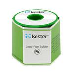 Kester Cable de soldadura sin plomo de núcleo de fundente - 1 lb - Diámetro del alambre 0.072 pulg. - Compuesto Sn -