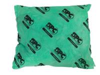 Brady Hazwik Verde Polipropileno 14 gal Almohada absorbente 107712 - Polipropileno Material de rellenador - Ancho 18 in - Longitud 18 in - 662706-28208
