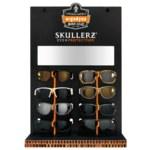 Ergodyne Skullerz Exhibición de corrugada para lentes cascada - 6.75 pulg. grosor - 720476-99849