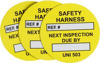 Brady UNI-UNI 503 YELLOW Yellow Universal Tag Insert - 14483