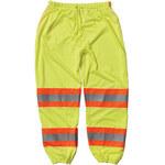 PIP 319-MTPLY Amarillo lima 2EG/3EG Poliéster Pantalones de alta visibilidad - 3 Bolsillos - Entrepierna 32.5 in - 616314-71959