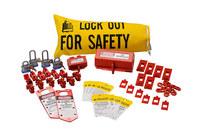 Brady Rojo Kit de bloqueo/etiquetado - 754473-70862