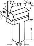 3M Punto impregnado Rectificador de diamante - Ángulo 15 ° - 20783