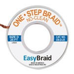 EasyBraid One Step Braid Trenza Desoldadora - Longitud 25 pies - Diámetro.100 pulg. -