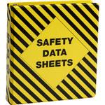 Brady Negro sobre amarillo Carpeta de hojas de datos GHS y MSDS - MATERIAL SAFETY DATA SHEETS - Inglés - 754476-58678