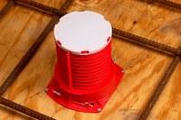 3M 2PICD Rojo Plástico Dispositivo de fundición de barrera contra incendios - Ancho 2 pulg. - 051115-16536