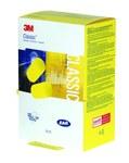 3M E-A-R Clásico Rapid Release 390-1201 Amarillo Tapón para los oídos - NRR 29 dB - Caja dispensadora - 078371-66638