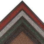 Notrax Heritage Rib 117 Carbón Interior Hilo mezclado Alfombra de entrada tipo carpeta - Ancho 3 pies - Longitud 2 pies - 117 2 X 3 CH