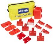 North Amarillo Nailon Kit de bloqueo/etiquetado - Material de contenedor Nailon - HONEYWELL LK112F