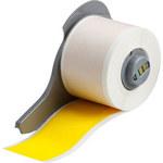 Brady M71C-1500-472-YL Amarillo Poliimida Rollo de etiquetas para impresora de transferencia térmica continua - Ancho 1.5 in - Longitud 50 ft - B-472