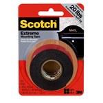 3M Scotch 414DC Cinta de montaje de espuma Negro - 1 in Ancho x 60 in Longitud - 91976