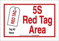 Brady B-302 Poliéster Rectángulo Señal de área de etiqueta designada Blanco - 7 pulg. Ancho x 10 pulg. Altura - Laminado - 122275