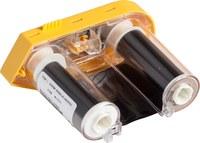 Brady M61-R6210 Negro Cartucho de etiquetas para impresora de transferencia térmica continua - Ancho 2 pulg. - Longitud 75 pies - 58052