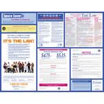 Brady Papel Rectángulo Cartel de ley laboral - 20 pulg. Ancho x 26 pulg. Altura - Laminado - 106360