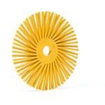 3M Scotch-Brite Cerámico Cepillo de cerdas radiales - Mediano grado - Agujero Central 3/8 in - 24280