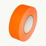 Polyken Cinta gaffer Naranja fluorescente - 2 pulg. Ancho x 60 yd Longitud - 11.5 mil Grosor - 510 2 X 60YD NEON ORANGE