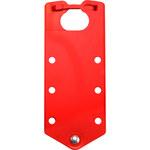 Brady Rojo Aluminio Broche de bloqueo/etiquetado QB0072B - 662820-04914