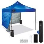 Ergodyne SHAX 6051 Azul Poliéster Carpa Rápida Plegable En Kit - Altura 10 pies - 14 pies - 12952