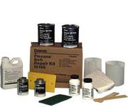 Devcon Flexane Kit de reparación de cinturón - Para uso con Cintas transportadoras, rodillos de caucho y otros componentes de caucho/elastómeros dañados Incluye Aplicador, (2) Masilla Flaxane 80, Mezc