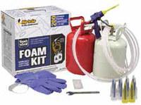 Dap Touch 'N Seal 200 Kit de espuma de poliuretano Tostado Espuma Cilindro Incluye: Guantes resistentes a productos químicos, llave de Ensamble, Anillo O, vaselina - 00054