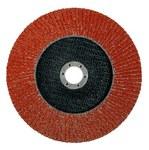 Standard Abrasives 645023 Tipo 27 Cerámico Disco de hojas - Diámetro 4 1/2 in - Agujero Central 7/8 in - 20257