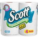 Kimberly-Clark Scott Blanco Papel higiénico de disolución rápida - 36409