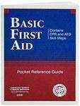 North Swift Polietileno Guía de bolsillo de primeros auxilios - 04-5027