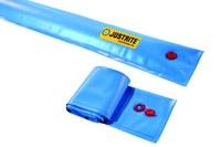 Justrite Azul Desviador del auge - Longitud 10 pies - 697841-15723