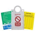 Brady Entrytag ENT-ETSH157A Kit de etiqueta de entrada - 14267