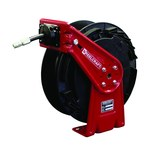 Reelcraft Industries RT Series 35 pies Rojo/negro Acero / Compuesto Carrete de manguera - longitud total 16.5 pulg. - Ancho 6.25 pulg. - Altura 17.625 pulg. - 00010