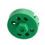 Brady Verde Cable de bloqueo 122246 - 754473-71189