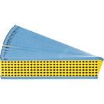 Brady Amarillo sobre negro Paño Flechas de inspección electrónica - Ancho 0.3 pulg. - Altura 0.25 pulg. - B-500