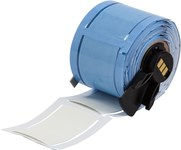 Brady PermaSleeve PSPT-750-2-WT-R Blanco Manga para impresora de transferencia térmica troquelada - Altura 2 pulg. - Dia Min Alambre 0.25 pulg. a Dia Max Alambre 0.7 pulg. - Impresión de un solo lado