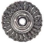 Dynabrade Acero Cepillo de rueda - Accesorio Eje - Diámetro de la cerda 0.014 in - 78800