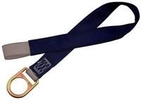DBI-SALA Azul Malla de poliéster Correa de anclaje de concreto - Anillo en D simple - Ancho 2 1/4 pulg. - Longitud 60 pulg. - 840779-04716
