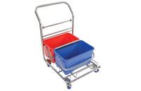 Contec Vertiklean 6.5 gal Azul, Rojo Carrito con cajas - 2650