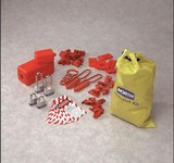 North Amarillo Nailon Kit de bloqueo/etiquetado - Material de contenedor Nailon - HONEYWELL LK108FE