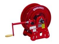 Reelcraft Industries Serie 30000 125 ft Rojo Acero Carrete de manguera de soldadura de gas - longitud total 17.75 in - Ancho 16.625 pulg. - Altura 20.625 pulg - 00239