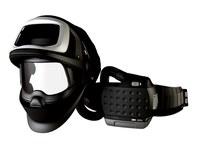 3M Adflo 9100 FX-Air 36-1101-00SWHA Máscara completa Respirador para soldadura - Montado en cinturón - Montado en cinturón - 12 h Ion de litio - 051141-56324