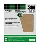 3M Óxido de aluminio Hoja de papel de lija - Accesorio Ninguno - 9 in ancho x 11 in longitud - 99405NA-CC