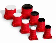 3M 6PICD Rojo Plástico Dispositivo de fundición de barrera contra incendios - Ancho 6 pulg. - 051115-16539