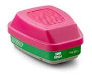 3M 60924 Combo de filtro y cartucho de respirador reutilizables - Ancho 4.2 in - Altura 3.4 in - 051138-46468